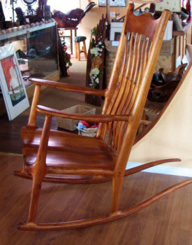 koa-wood-rocking-chair